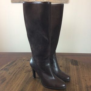 Ralph Lauren Tall Suede Leather Bryce Boots, 8